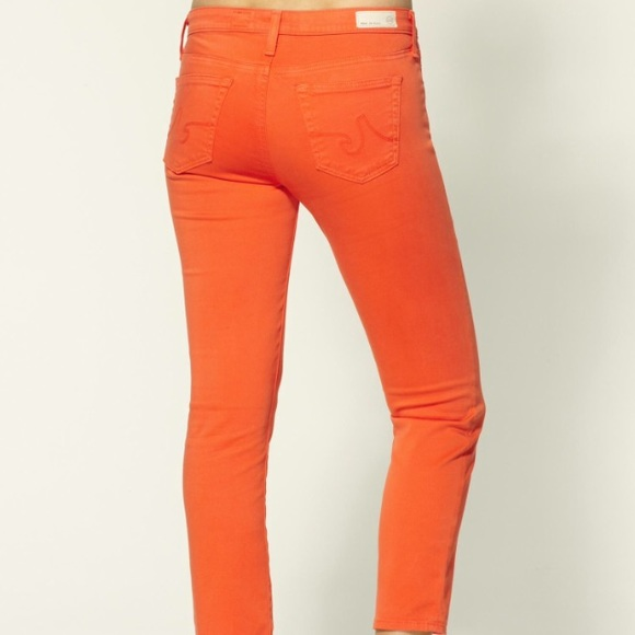 cropped skinny jeans - Yellow & Orange AG - Adriano Goldschmied Huge Surprise Find Great Cheap Online PKR1KRn1P