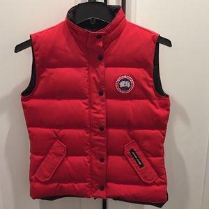 new canada goose vest