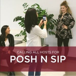 Posh N Sip - Hosts Wanted! #4