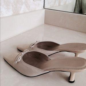 Shoes - Flash🌺Like  NEW Patent-bone mules-