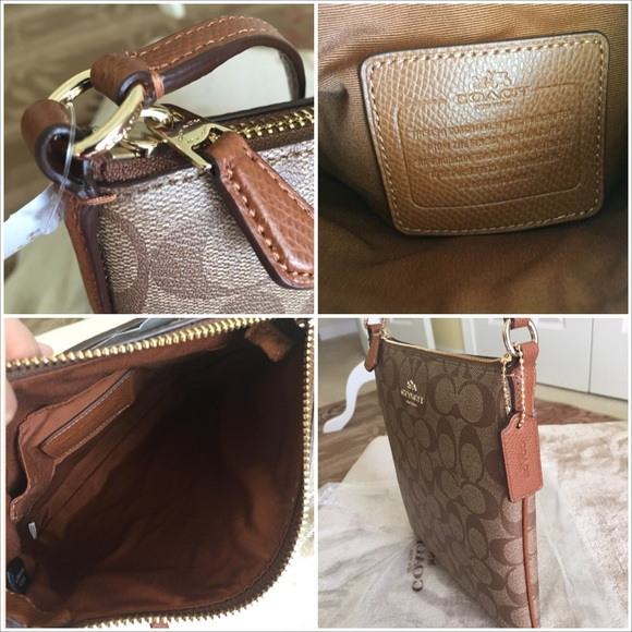 bb4cbbc1ed ... amazon coach bags authenticcoach signature northsouth crossbody bag  52c61 a9fed