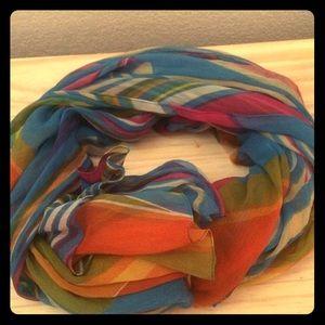 Multi-colored Stripe Scarf