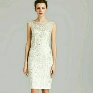 Sue Wong Dresses & Skirts - NWT Sue Wong Sequined ivory dress Sz  4