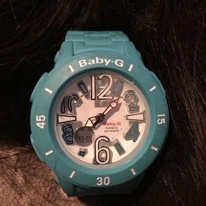 G-Shock Accessories - Baby blue  Baby g watch
