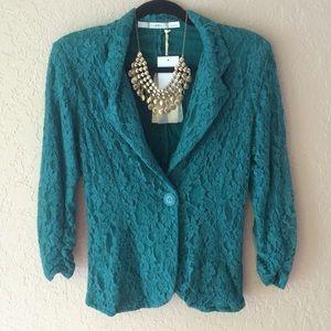 Turquoise Blazer