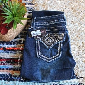 Miss Me Denim - NWT Miss Me Signature Boot Cut Denim ✨