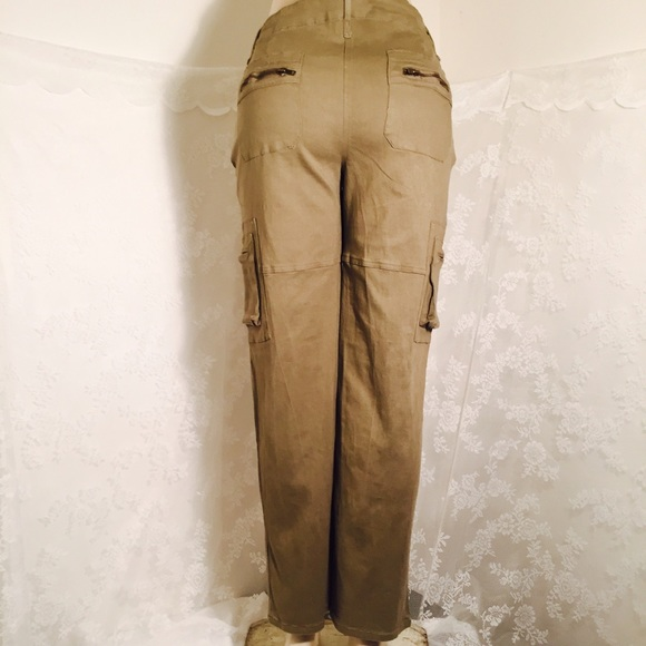 80% off Color Swatch Pants - Khaki colored cargo type pants FINAL ...