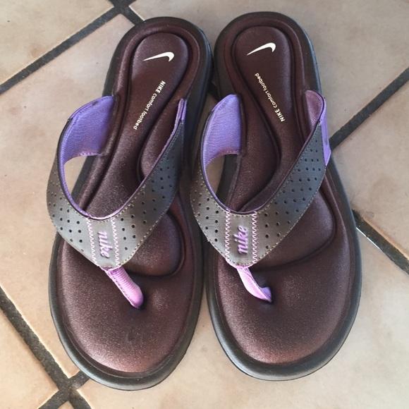 cielo Tomar un riesgo Silicio  Nike Shoes | Comfort Footbed Sandals | Poshmark