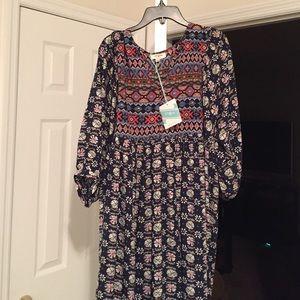 Tribal print dress!