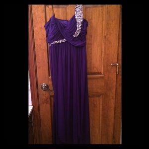 STILL AVAILABLE Purple Prom Dress
