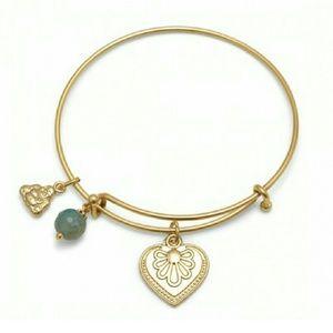 THE AURORA CO. Buddha charm bangle bracelet