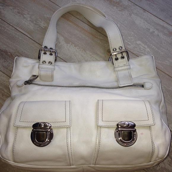 e3a920dd6b Marc Jacobs Bags | Final Markdown Off White Stella Tote | Poshmark