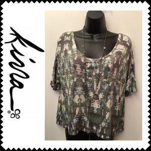 Kirra trapeze shirt Sz Medium