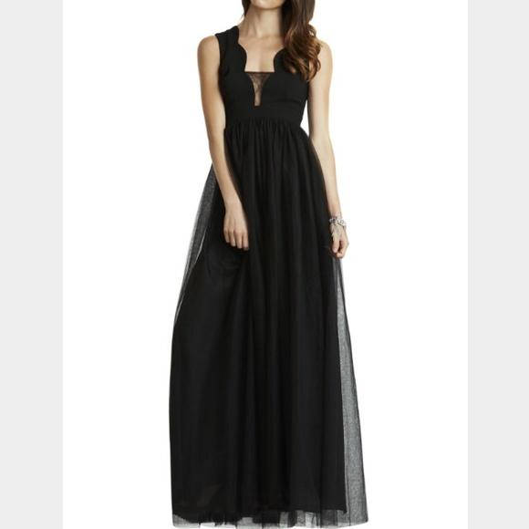 497ea15e90 BCBG Scalloped Tulle Dress