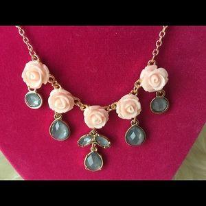 LC Lauren Conrad Jewelry - 🎉Final Sale🎉LC Lauren Conrad Rosette Necklace
