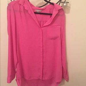 Hot Pink H & M button down