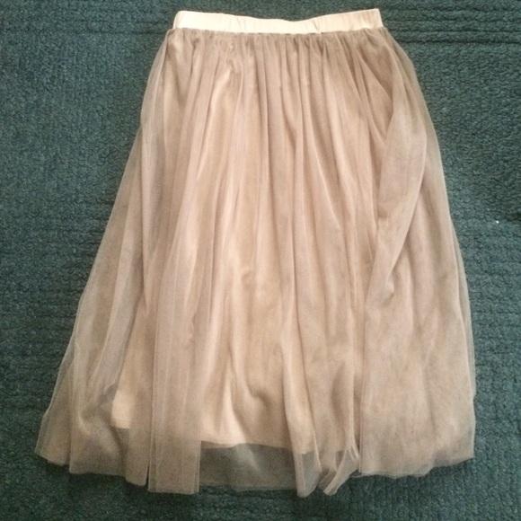 7a758ad032 Garnet Hill Dresses & Skirts - Garnet Hill Tulle skirt size ...