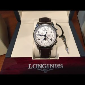 Longines Accessories - THE LONGINES MASTER COLLECTION WITH MOON PHASE