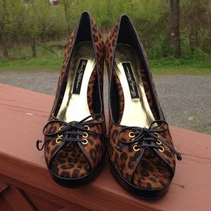 Beverly Feldman Shoes - Beverly Feldman Leopard Heels