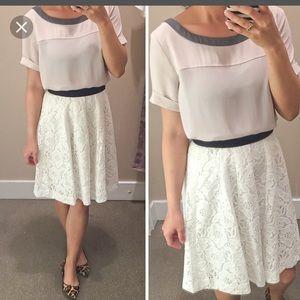 LOFT Dresses & Skirts - NWOT LOFT lace skirt