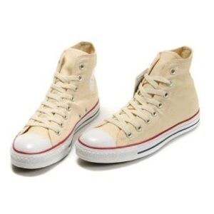 Converse Cream Hightops