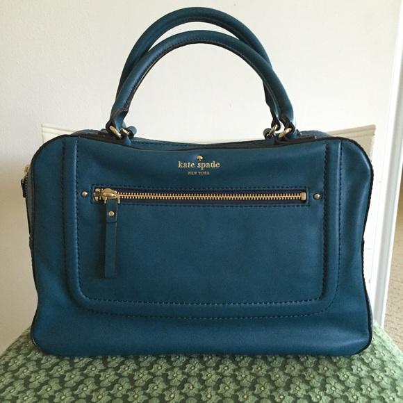 4453202778 kate spade Handbags - Kate Spade Mott Street Fisher in Deep Sea