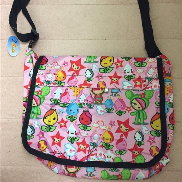 414d74ed68 Tokidoki x Hello Kitty Messenger Bag