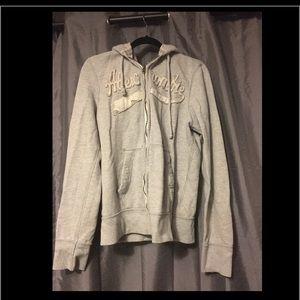 Men's A&F zip up sweatshirt
