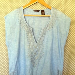 New York & Company Other - Linen Beach Tunic Coverup