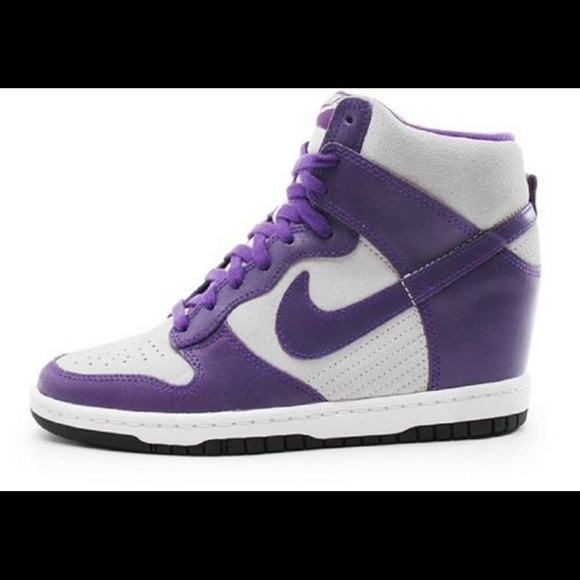 🔥SALE Nike Dunk Sky Hi wedge tennis shoes womens!  M 5725117b6d64bced65037144 95a460a67b