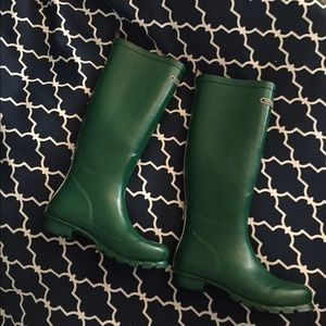 henri bendel Shoes - Henri Bendel kelly green rain boots