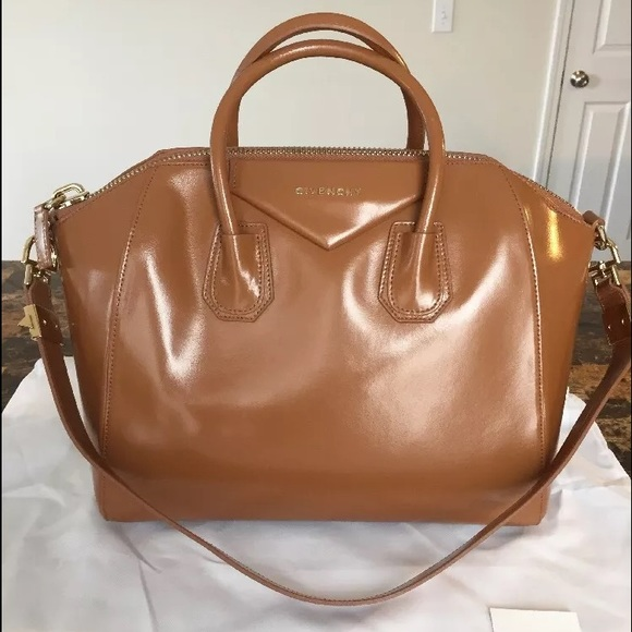 cd36f2f97fc3e Givenchy Bags | Antigona Medium Smooth In Caramel | Poshmark