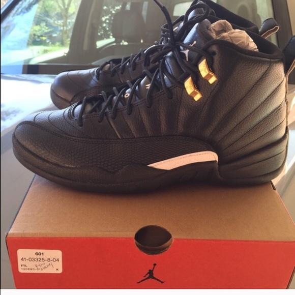 d914cd06316d Jordan Shoes - Authentic Air Jordan 12 Retro  The Master  size
