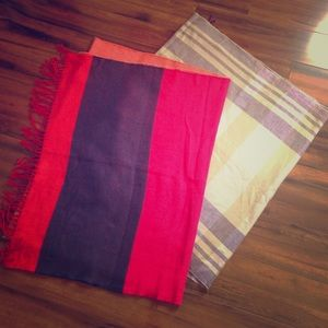 Gap colorful scarf bundle!