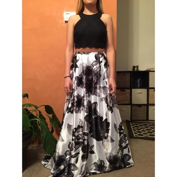 Davids Bridal Dresses 2 Piece Prom Dress Poshmark