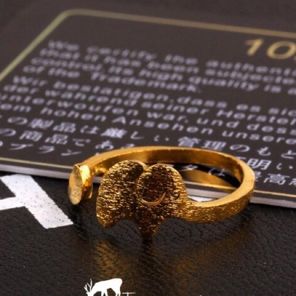 Gucci Elephant God Ring