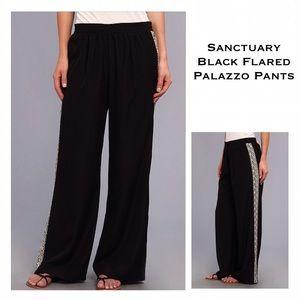 Sanctuary Pants - ✨NWT Black Sanctuary Side Contrast Trim Pants✨