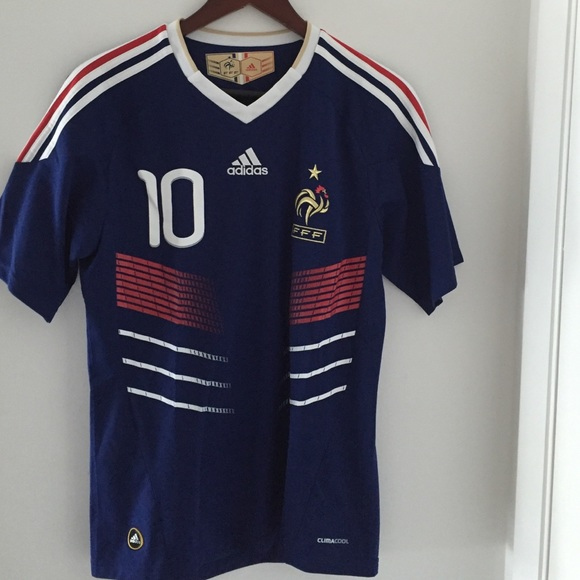 the best attitude 5f5e8 235df Authentic french national jersey, zidane