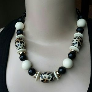 Animal Print Fashion necklace