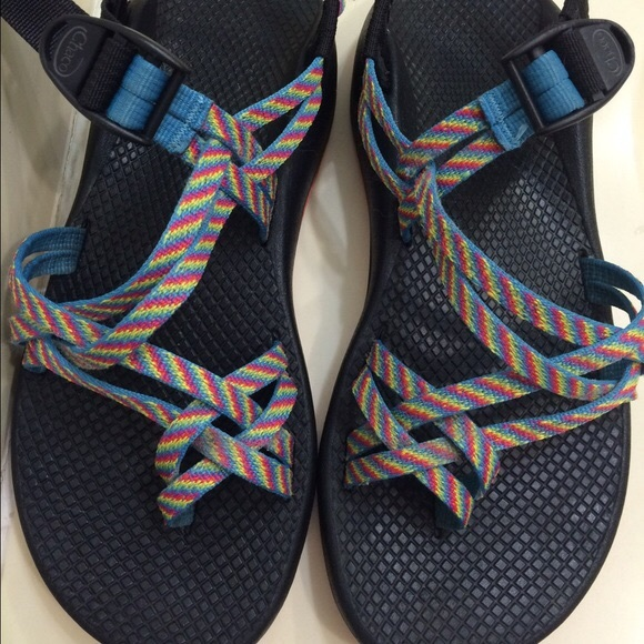 Chaco Shoes   Fiesta Rainbow Chacos