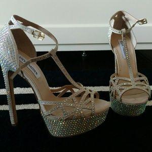 Champagne Platform Heels