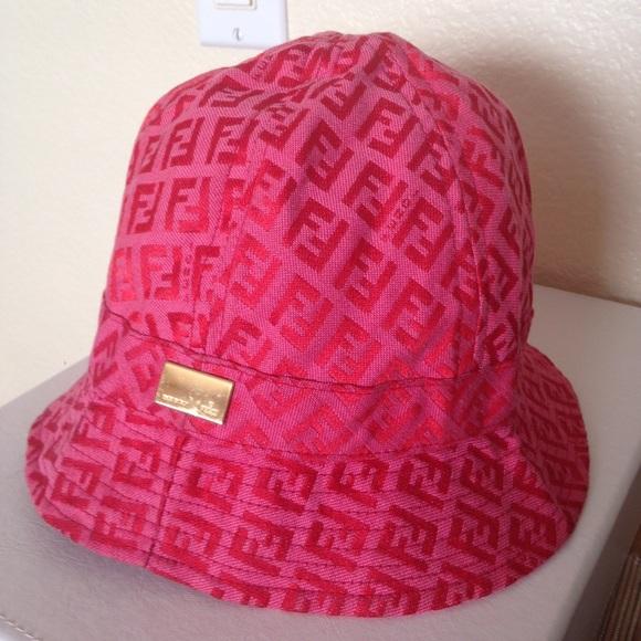 FENDI Accessories - FENDI Fedora rain bucket hat 36cb696394f