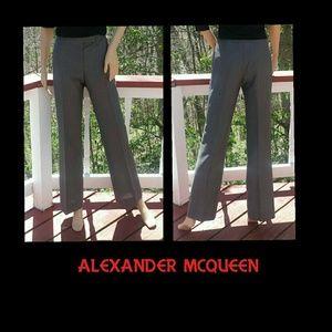 Alexander McQueen Pants - 💠SALE💠ALEXANDER MCQUEEN Mohair/Wool Trousers