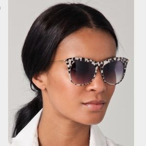 Elizabeth and James Accessories - Elizabeth and James Fairfax Leopard Sunglasses LE