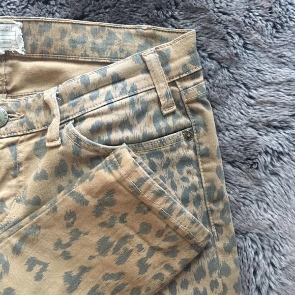 Current/Elliott Jeans - Current Elliott Stiletto Skinny Jean Leopard 27