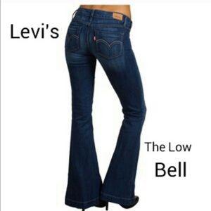Women's Low Rise Bell Bottom Jeans on Poshmark