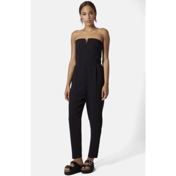 04584ea56484 Off shoulder Black jumpsuit. M 57281afb522b45a1ec018277