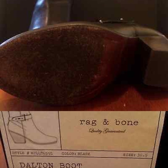 39 off rag bone shoes rag bone dalton boots booties for Rag bone promo code