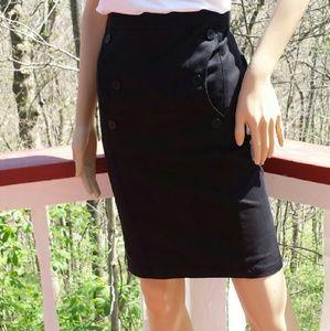 Emporio Armani Dresses & Skirts - 💠SALE💠EMPORIO ARMANI Button Trimmed  Skirt