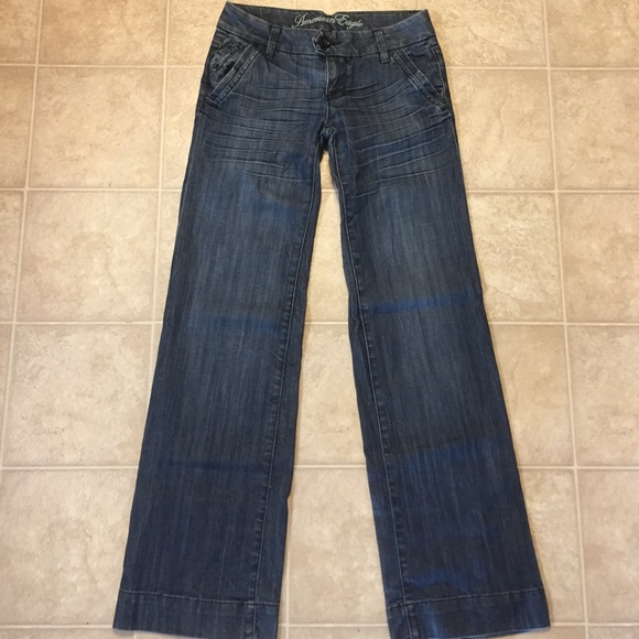 American Eagle Outfitters - American Eagle wide leg jeans from ...